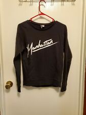 "H&M Black ""Manhattan"" Sweater Size XS"