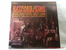 """THE BAJA MARIMBA BAND -(LP)- HEADS UP - INCLUDES """"THEY CALL THE WIND MARIA""""-1967"""