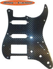Fender Stratocaster 57' 8 hole pickguard scratchplate REAL Carbon Fiber HSS