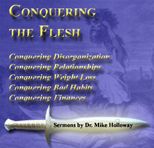 Conquering the Flesh Preaching CD's Dr. Holloway KJV