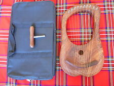 Brand NEW LYRE ARPA 10 stringhe / LYRA ARPA 10 meatal Stringhe FREE Carry Bag