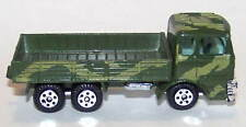 Die Cast Military Snub Nose 6X6 Truck in Jungle Green Camouflage