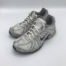 Womens Nike Air Max Torch SL WHITE/PINK/SILVER Running Shoes 317004-106 SZ 10/42