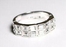Nolan Miller Ring Size 7 Clear Gems