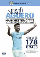 Sergio Aguero - Manchester City All-time Leading Goalscorer - DVD - NEW Man City