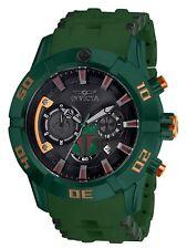 New Mens Invicta 26546 Star Wars Boba Fett Green Stainless Steel 50mm Watch