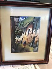 Vintage Original Painting By Haitian Artist RONY
