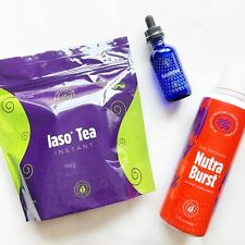 TLC Slimming Kit - Resolution Drops, Nutra Burst, Iaso Instant Tea (25 Sachets)