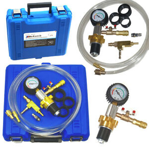 Cooling System Vacuum Purge & Refill Kit Quick Fill Coolant No Air Pockets