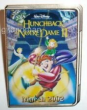 Disney 12 Months of Magic DVD Case Hunchback of Notre Dame II Movie Poster Pin