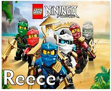 Personalised Lego NinjaGo Kids A5 Jigsaw Puzzle - Great Gift -