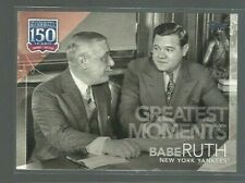 2019 Topps 150 Years of Professional Baseball #1502 Babe Ruth (ref 63703)