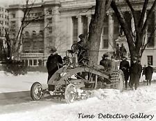 A Ford Motor Company Tractor - 1925 - Historic Photo Print