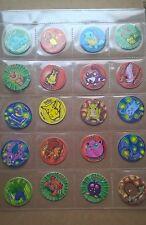 Pokemon 1 series tazo 50 tazos  tokens  pogs 50/51