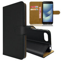 SDTEK PU Leather Wallet Flip Cover Case for ZenFone 4 Max ZC520KL (5.2 inch)