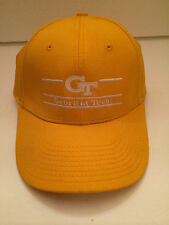 Georgia Tech Hat/Cap-Yellow with White Lettering/The Game-One Size.100% Cotton