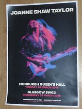 Joanne Shaw Taylor - Edinburgh/Glasgow march 2019 show concert gig poster