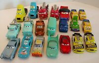 Disney Pixar Cars ***DAMAGED*** LOT for parts customization repairs lot of 21
