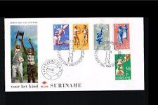 [LW056] 1969 - Suriname FDC E70_1M - Kinderzegels