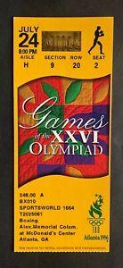 1996 Atlanta Summer Olympics Ticket Stub 7/24/96 Boxing