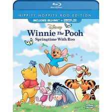 Winnie The Pooh: Springtime With Roo [Blu-ray + Digital, Region A, 1-Disc] NEW