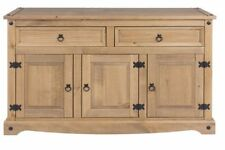 Wooden 60cm-80cm Height Sideboards, Buffets & Trolleys