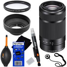 Sony 55-210mm f/4.5-6.3 OSS E-Mount Telephoto Zoom Lens (Black) + 6pcs Acc Kit