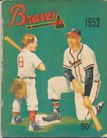 Boston Braves 1952 Official Yearbook 142083