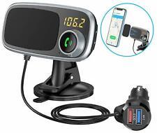 Magnetisch KFZ Bluetooth FM Transmitter MP3 Player 2 USB Auto Freisprechanlage