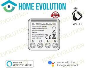 Homcloud Domotica AS-MM1 Modulo Interruttore Mini 1 canale Wi-Fi
