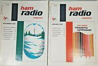 Ham Radio Magazine December 1978 amd January 1979