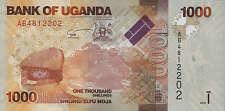 Uganda 1000 Shillings 2010 Pick 49 (1)