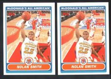 NOLAN SMITH LOT OF (2) 2007 TOPPS MCDONALD'S ALL AMERICAN SP RC ROOKIE MINT $20