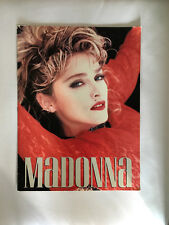 VINTAGE CONCERT PROGRAM-MADONNA VIRGIN TOUR 1985 frm MSG authentic and original