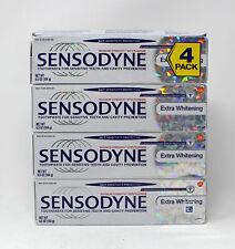 Sensodyne Maximum Strength & Extra Whitening Toothpaste - Pack of 4