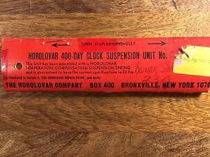 Reiner Standard 53 (HOROLOVAR 400 DAY) SUSPENSION UNITS   Lot 758