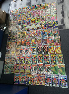 (98x) Lot Uncanny X-Men Comics 99-185 NEWSSTAND, KEY ISSUE VF INVEST WOLVERINE