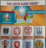 PANINI EURO 2020 TOURNAMENT EDITION STICKER COLLECTION - 231 - 454 buy 3 get 10
