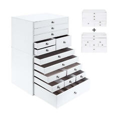 SortWise 9 Layers Jewelry Box Extra Large Jewelry Organizer Storage Case Holder