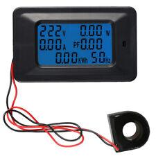 Ac 110 250v Ammeter Voltmeter 220v 100a Digital Lcd Meter Monitor Power Energy