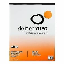 Yupo Paper Pad- 28cm X 36cm 10 Sheets. Included