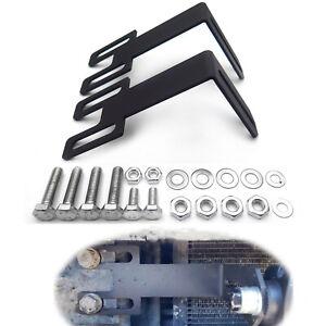 """For 03-19 Dodge Ram 2500/3500 Hidden Bumper 32"""" LED Light Bar Adjustable Bracket"""