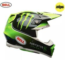 Bell Helmet Moto 9 MIPS XL Monster Tomac ET3