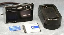 SONY CYBER-SHOT DSC-T70 DIGITAL CAMERA 8.1 MEGAPIXELS, BLACK - FREE USA SHIPPING