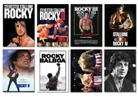 Rocky 1 2 3 4 5 full Set Movie Postcard Set 8pcs Slyvester Stallone boxing