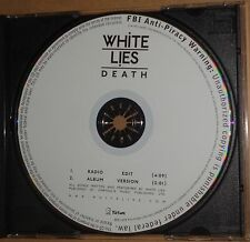 White Lies - Death - Promo CD. 2009. Geffen Records.