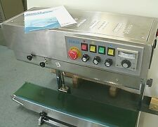 STAINLESS STEEL FRD-1000 CONTINUOUS BAND VERTICAL BAG SEALER & INK CODER 110volt