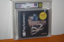 Resident Evil 2 (PS1 PSX Playstation) NEW SEALED FIRST PRINT, MINT GOLD VGA 90!