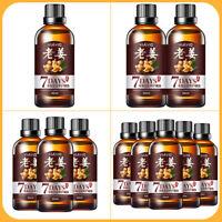 1-5PCS Hair Growth Oil Dense Regrowth Ginger Serum Anti Loss Treatment Essence