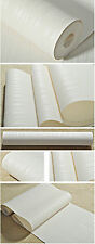 Luxury Wallpaper Roll Home Flocking Embossed Textured Line Wall Paper Background